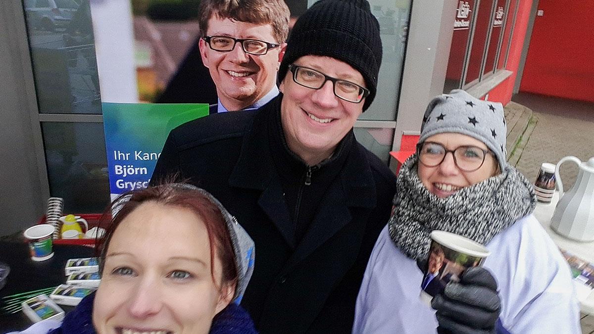 Björn Gryschka unabhängig für Bad Salzdetfurth Bürgermeister Zuhör Tour