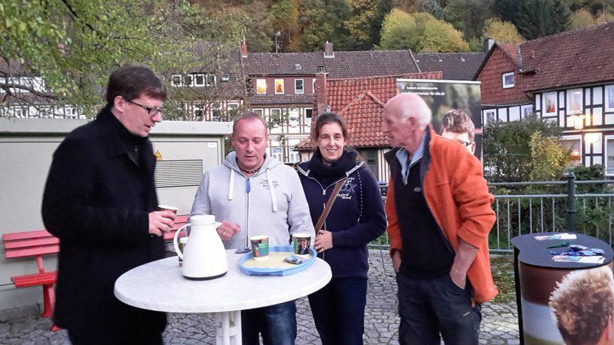 Björn Gryschka unabhängig für Bad Salzdetfurth Zuhör Tour