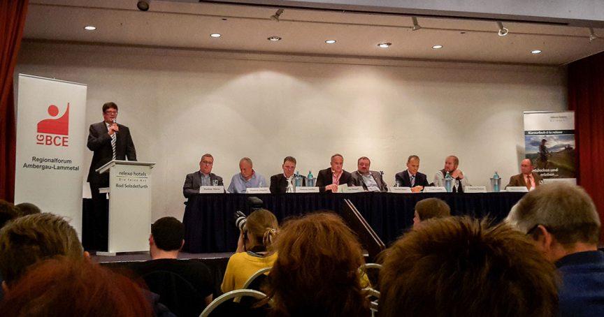 Vorstellungsrunde der Bürgermeisterkandidaten in bad Salzdetfurth