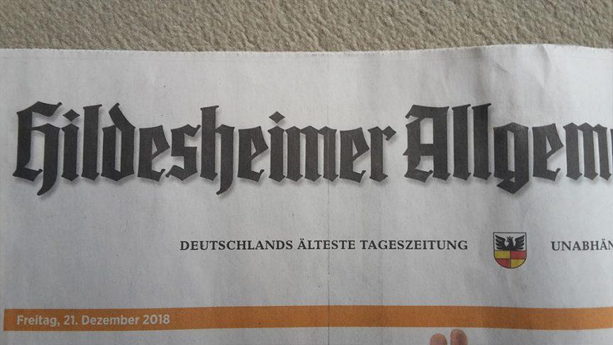 Björn Gryschka unabhängig für Bad Salzdetfurth Hildesheimer Allgemeine