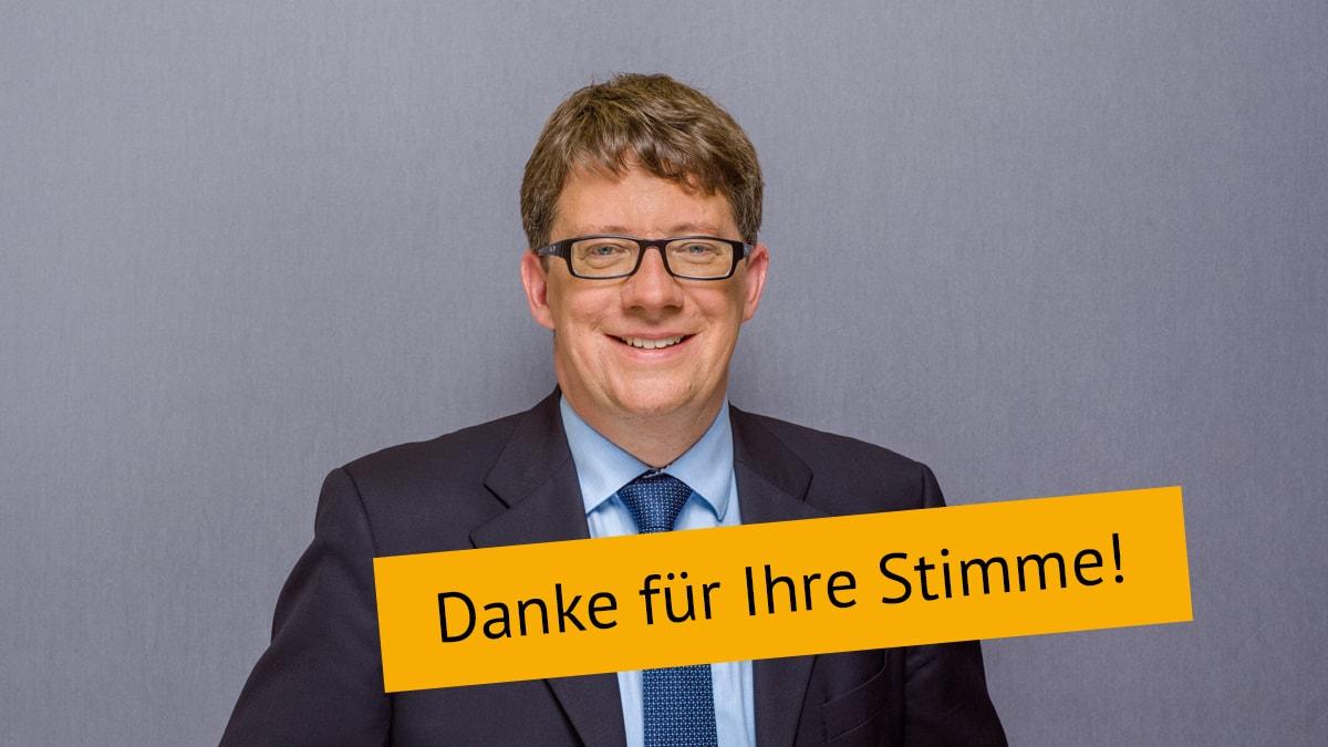 Björn Gryschka unabhängig für Bad Salzdetfurth Stichwahl Danke für Ihre Stimme